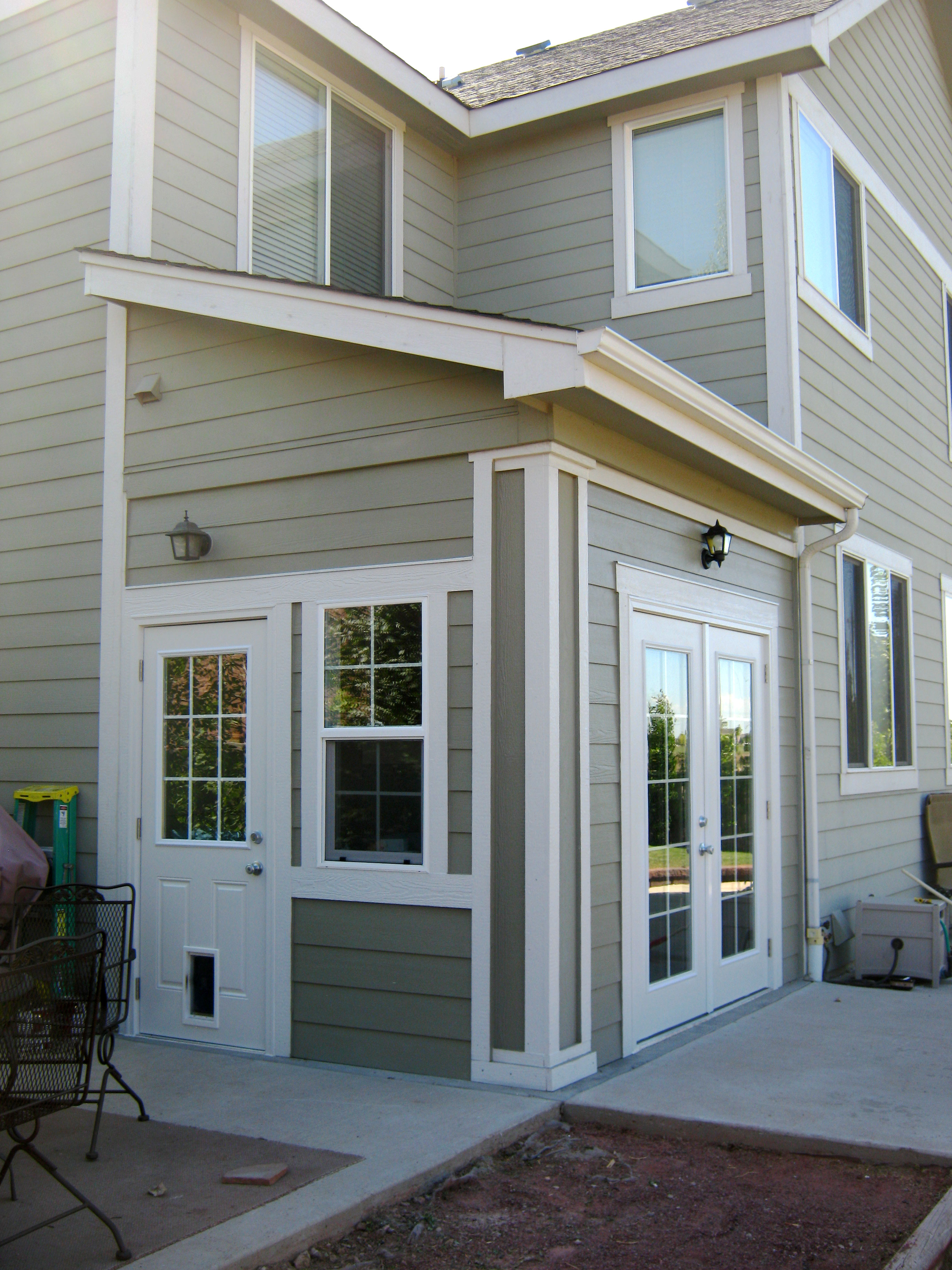Exterior finishes quality renovations home services for Exterior finishes for homes